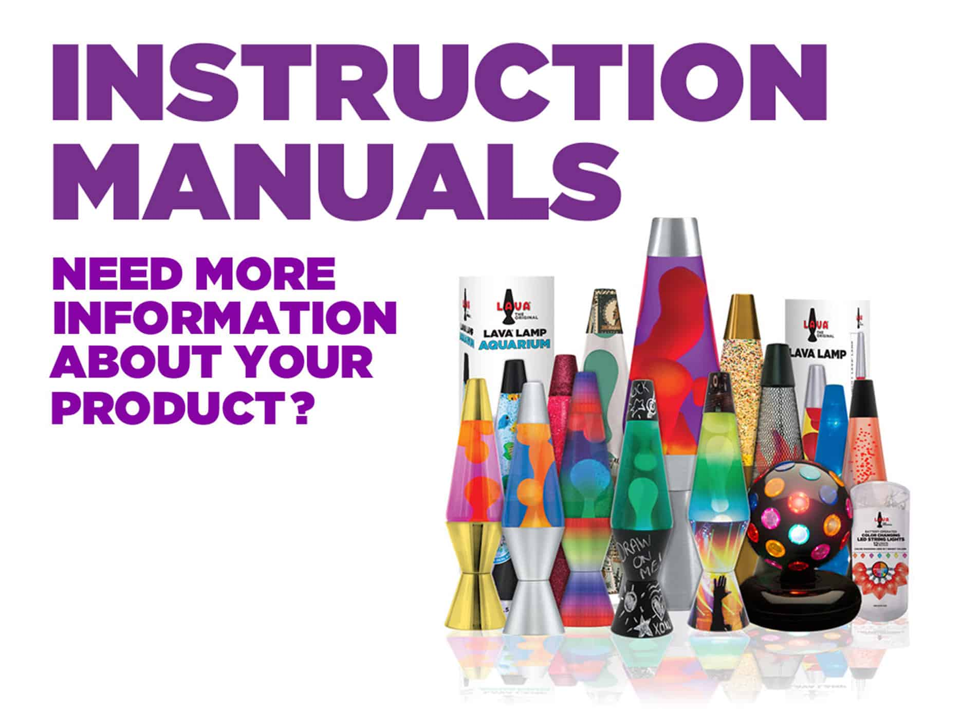 instruction manual lava lamp rh lavalamp com Lava Lamp Bulb Replacement Groovy Lava Lamp Science Project