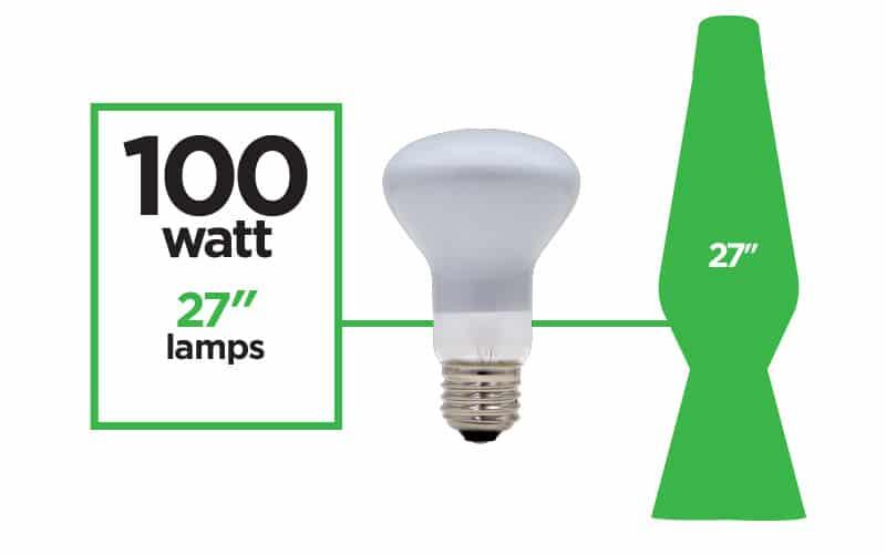5010 100 Watt Reflector Light Bulb Lava 174 Lamp