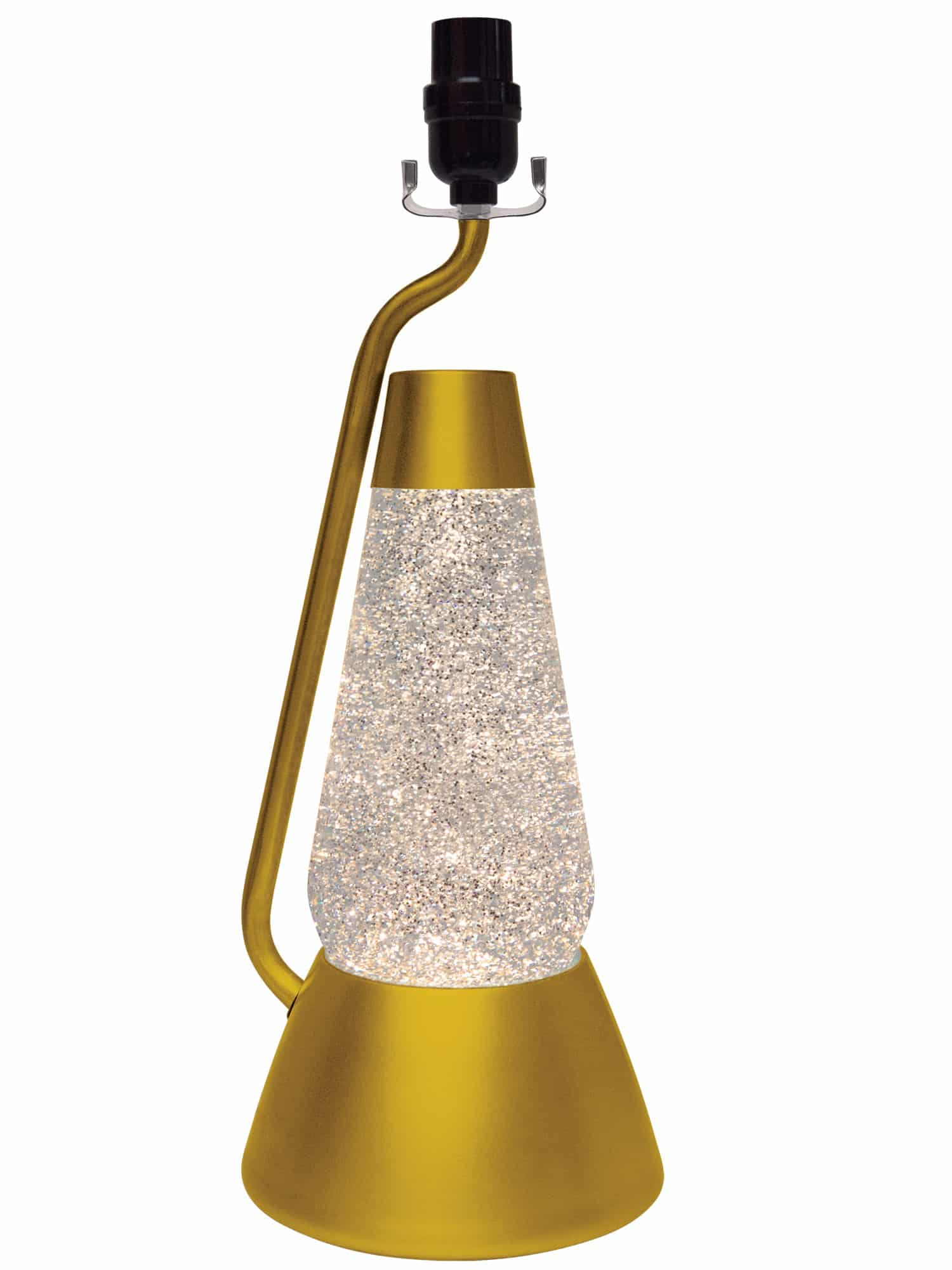 3115 Gold Glitter With Clear Liquid Motion Lamp Lava 174 Lamp