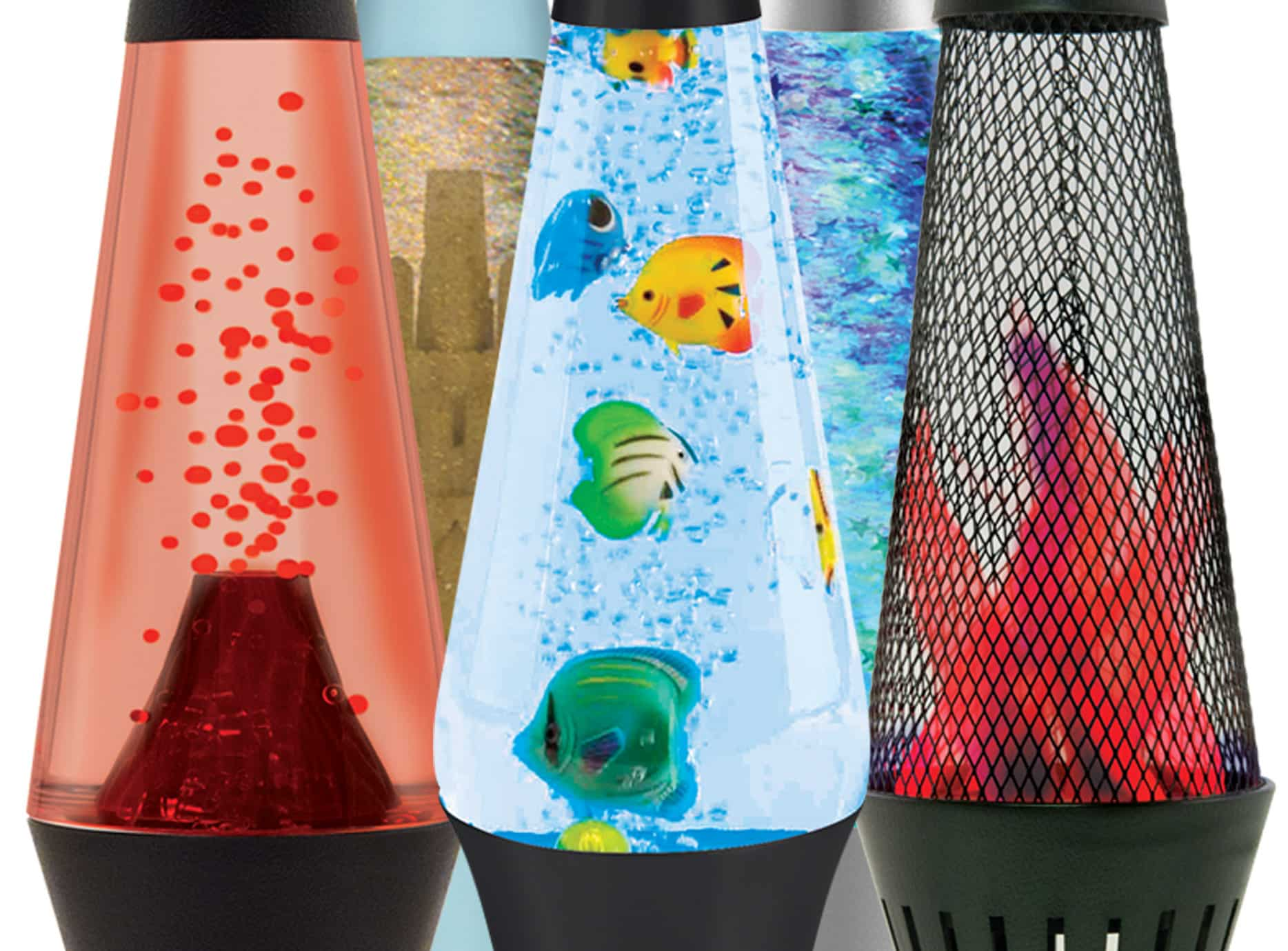The instant start-up action gets the fun started right away. Without the  heat that you find in a regular LAVA lamp, these are perfect for smaller  children.