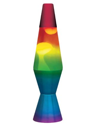 Colormax Lava Lamps Hand Painted, Lava Lamp Colormax Rainbow