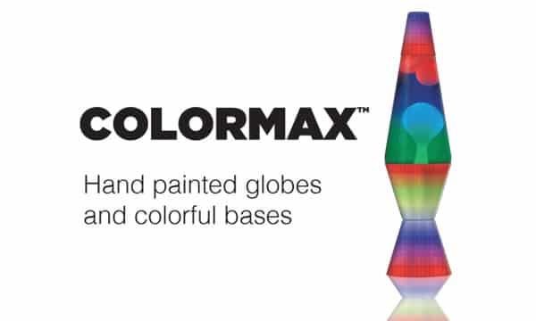 Liquid Motion Lamps The Original Lava, Lava Lamp Colormax Rainbow